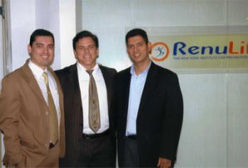 Dr. John Salerno at RenuLife in Sao Brazil